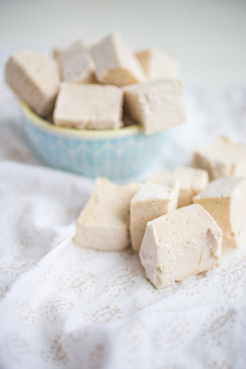 Homemade Paleo Maple Marshmallows