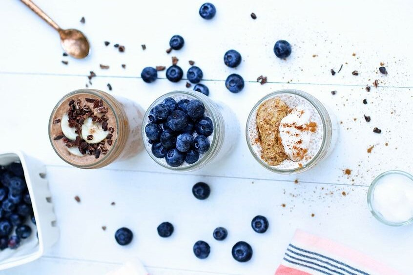 Paleo Chia Pudding 3 Ways