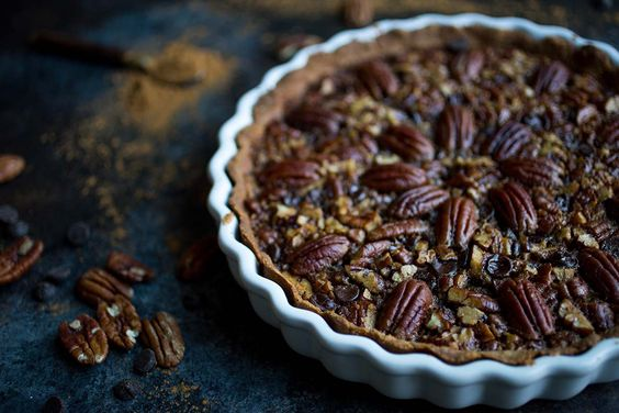 Paleo Chocolate Chip Pecan Pie